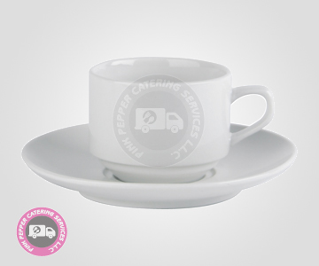 Tea Coffee Cup and Saucer